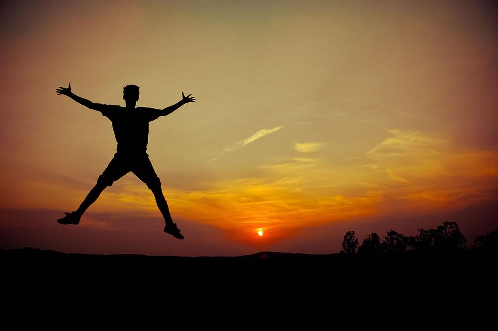 jump! sunset Shawnee National Forest