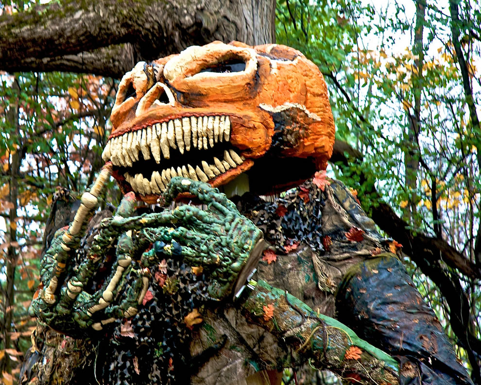 the pumpkin king haunted forest Vermont