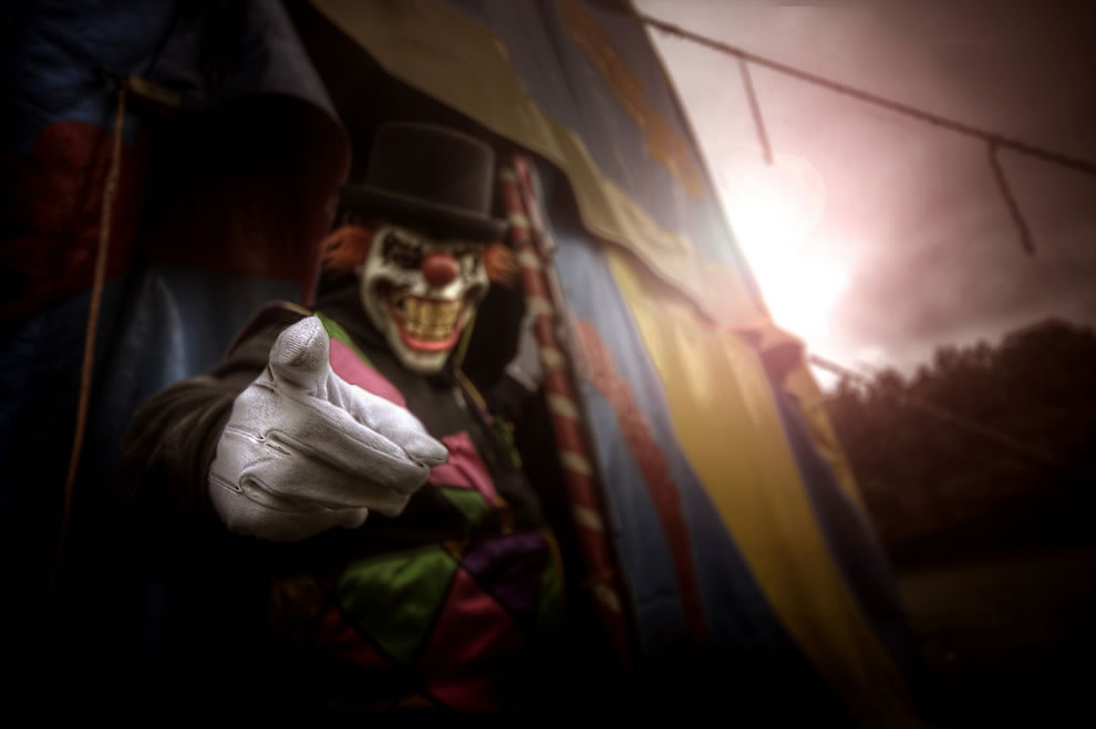 Clown, shudder, confront your fears