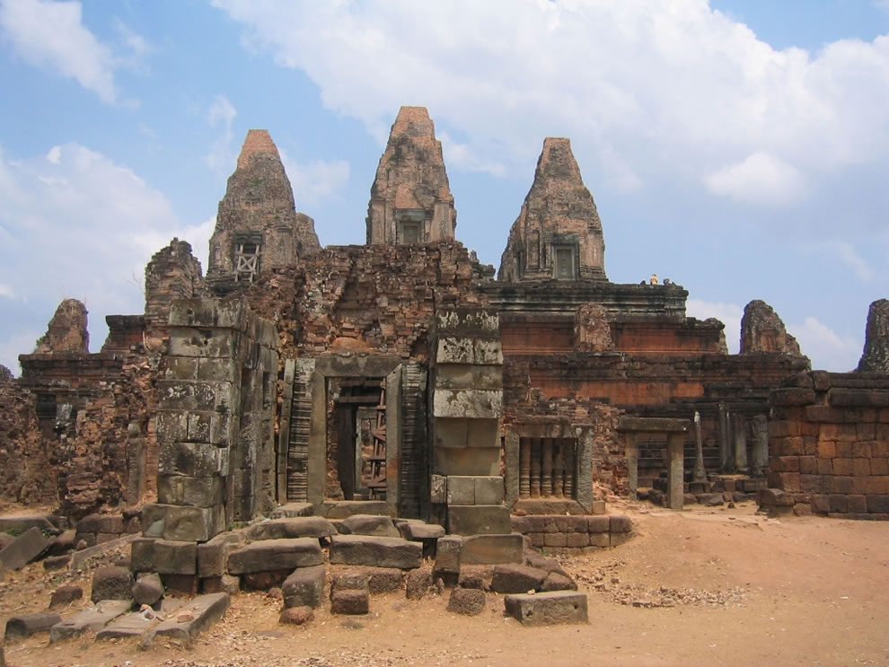 AngkorPre Rup, one of the many temple ruins within the Angkor Archaeological Park