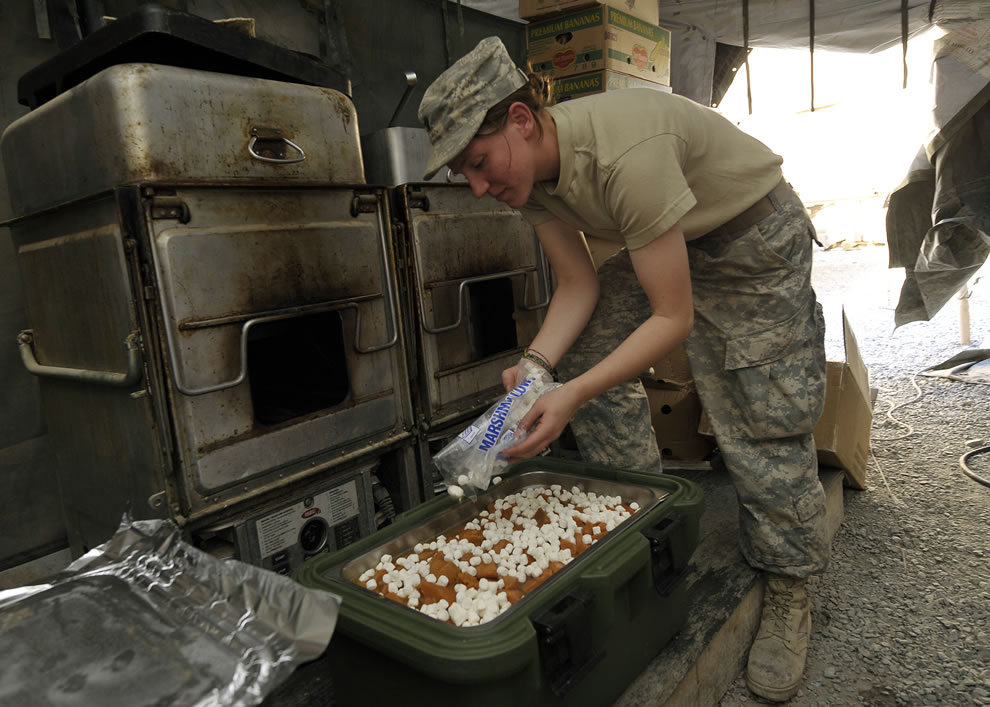 Army Thanksgiving Afghanistan