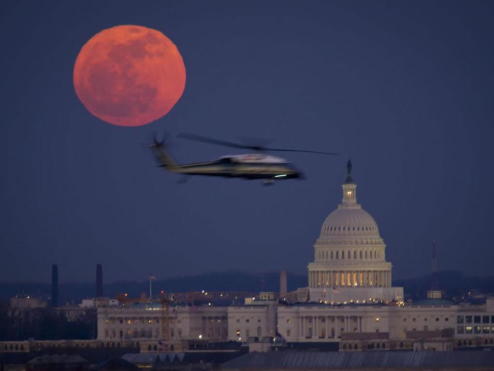 Full Moon Over Washington