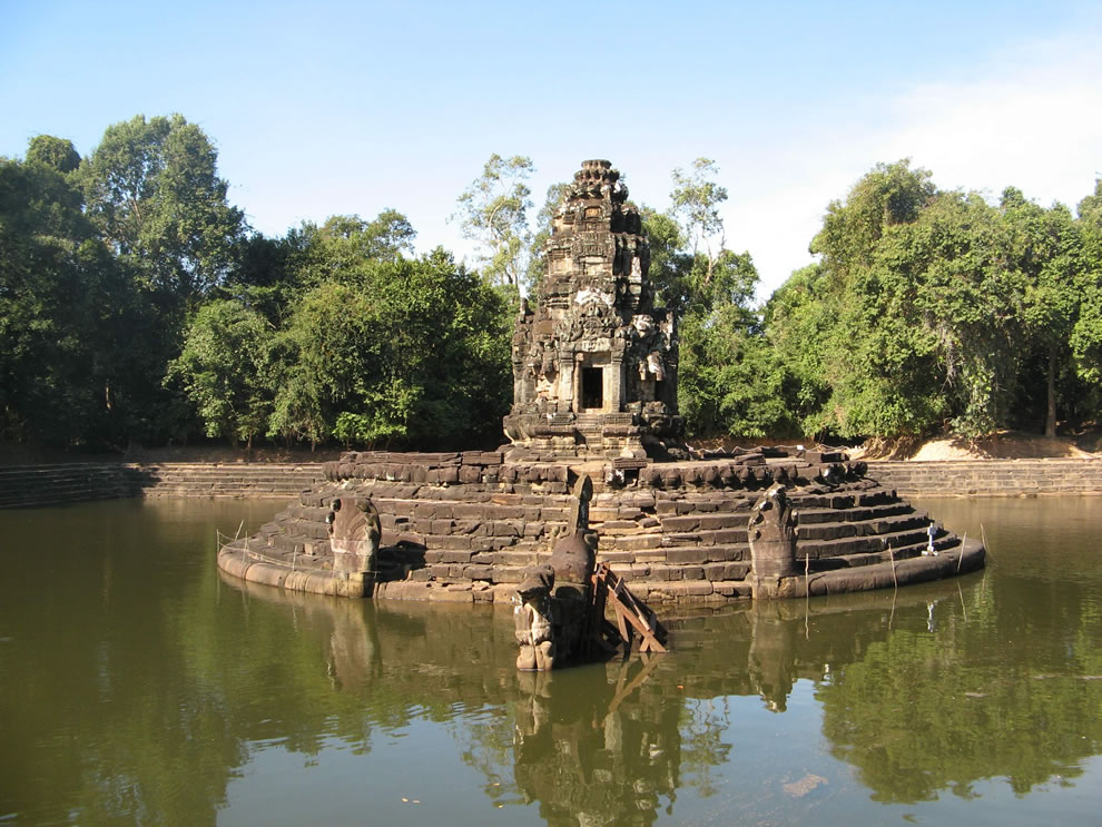 Neak Pean Temple Angkor, Cambodia
