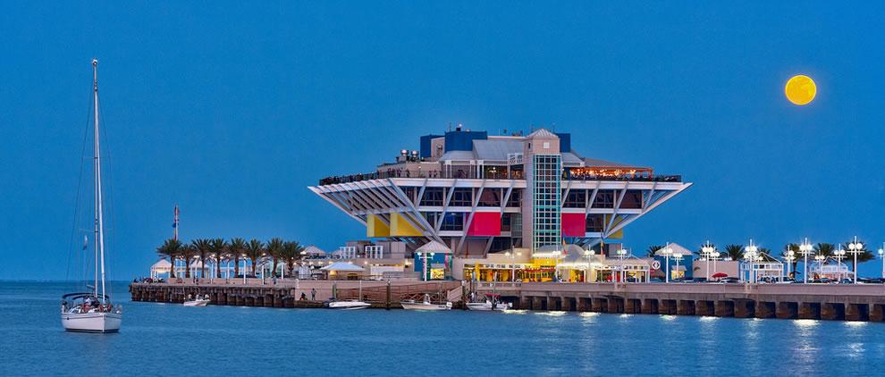 Supermoon Sailboat, St Petersburg, Florida