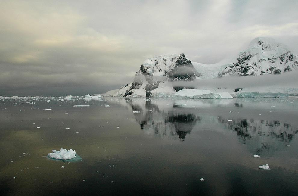Antarctica - Neko Harbour icebergs and glaciers