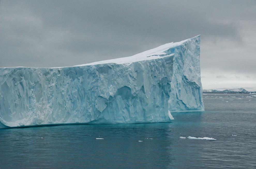 Antarctica, icebergs in Gerlache strait
