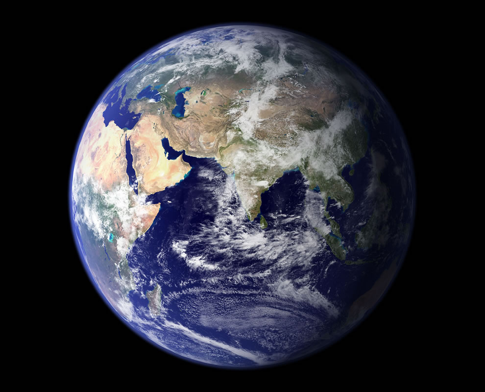 NASA's Blue Marble in 2002