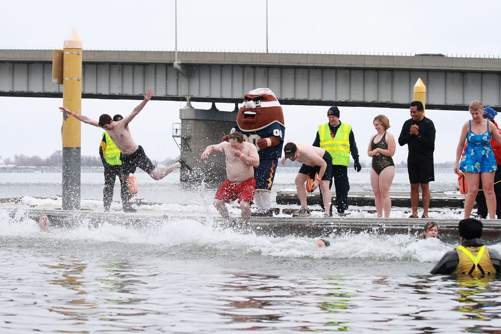 Polar Bear Plunge for Special Olympics