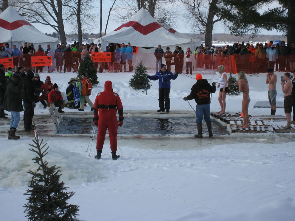 The Polar Bear Plunge -- Tip Up Town Houghton Lake MI