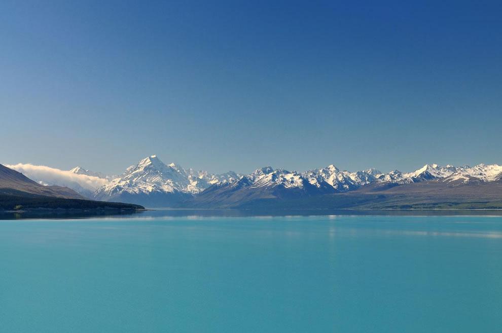 #8 South Island, New Zealand, with Aoraki / Mt. Cook