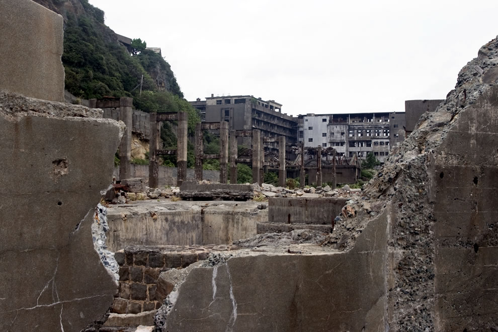 Hashima Island Skyfall James Bond