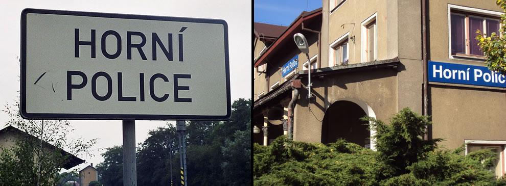 Horni Police in the Czech Republic