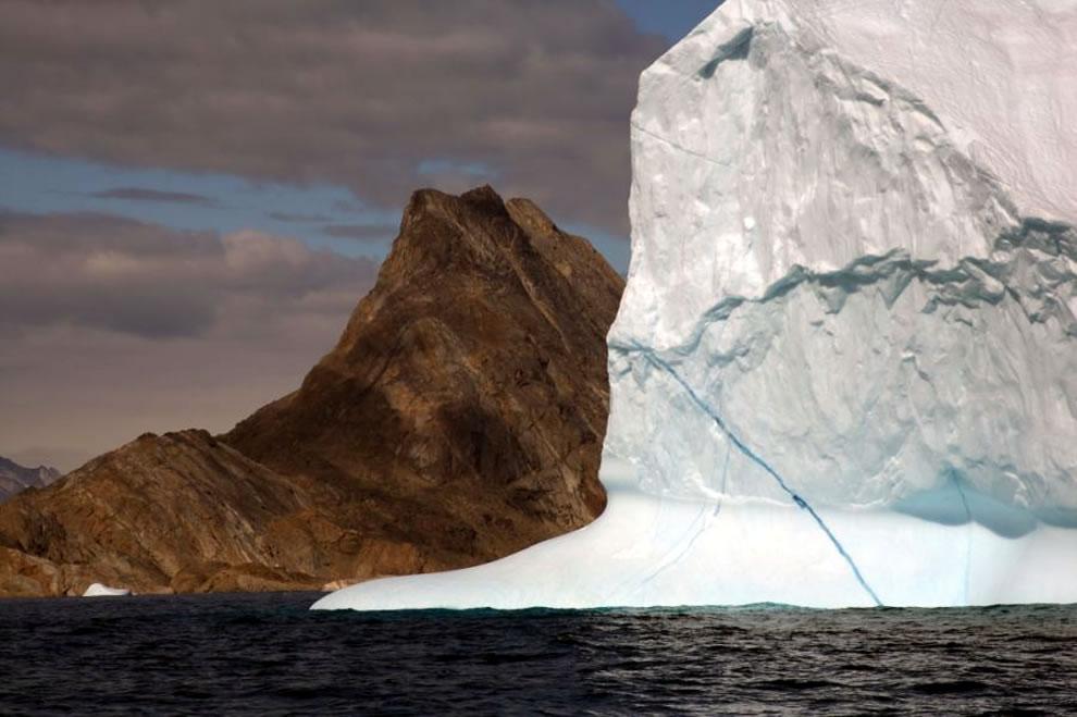 Icebergs near Tasiilaq