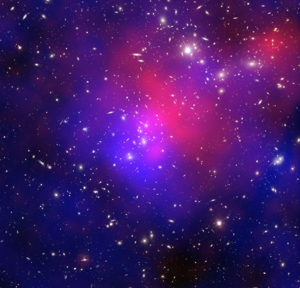 Pandora's Cluster Revealed HEART