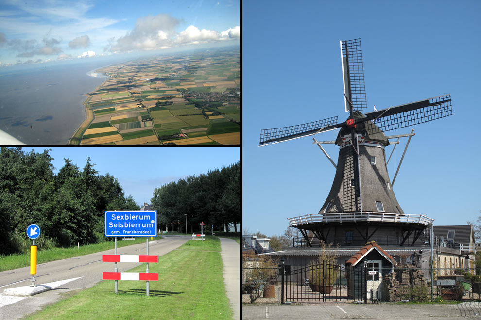Sexbierum (Seisbierrum) is a village in the municipality of Franekeradeel, in the central north of the Netherlands