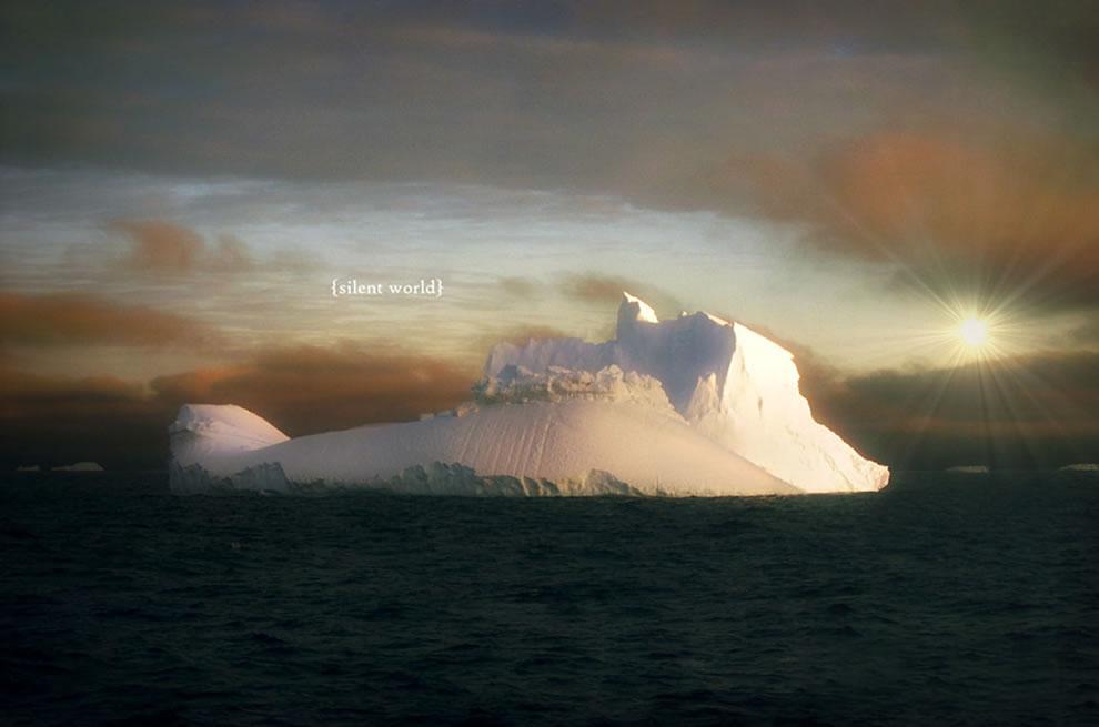 Silent world, Antarctica iceberg
