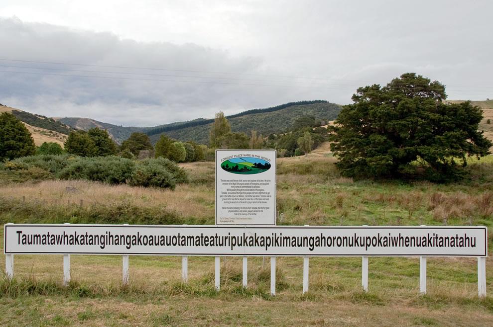 Taumatawhakatangihangakoauauotamateapoka iwhenuakitanatahu, New Zealand