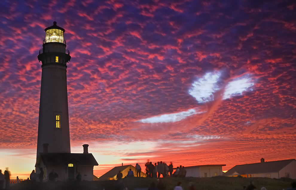 Pigeon Point Lighthouse @ sunset