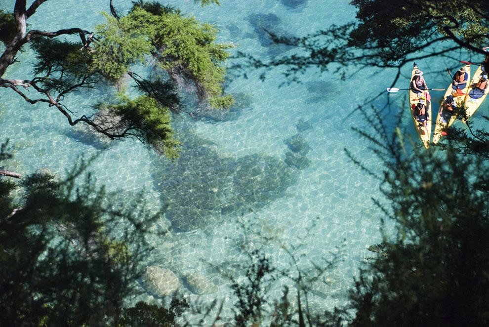Heart-shaped rock Abel Tasman, New Zealand