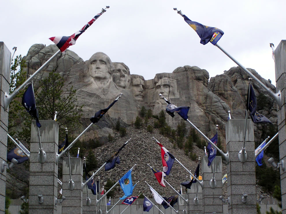 Mt Rushmore entrance