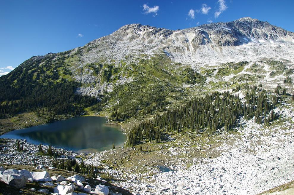 Saxifrage Peak, Valentine Lake