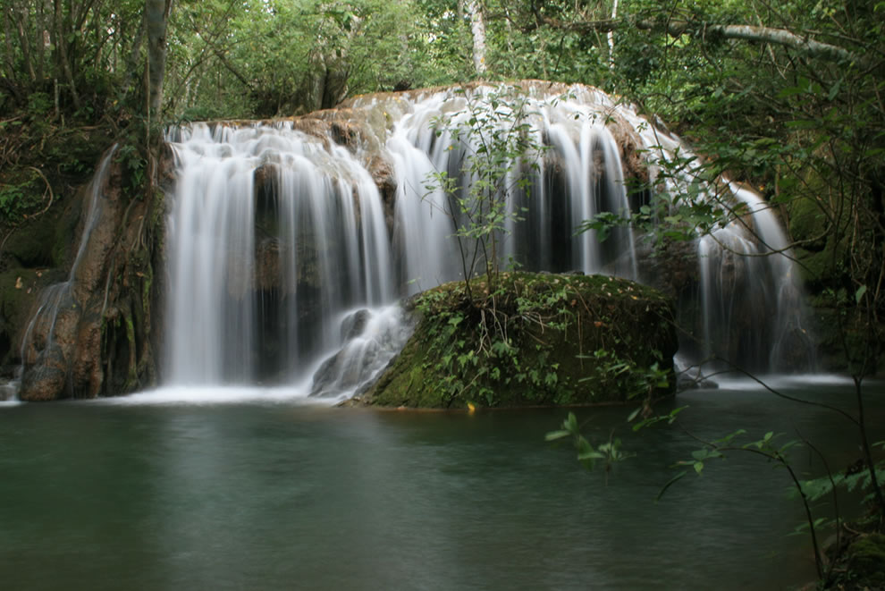 Waterfall in Bonito - Mato Grosso do Sul