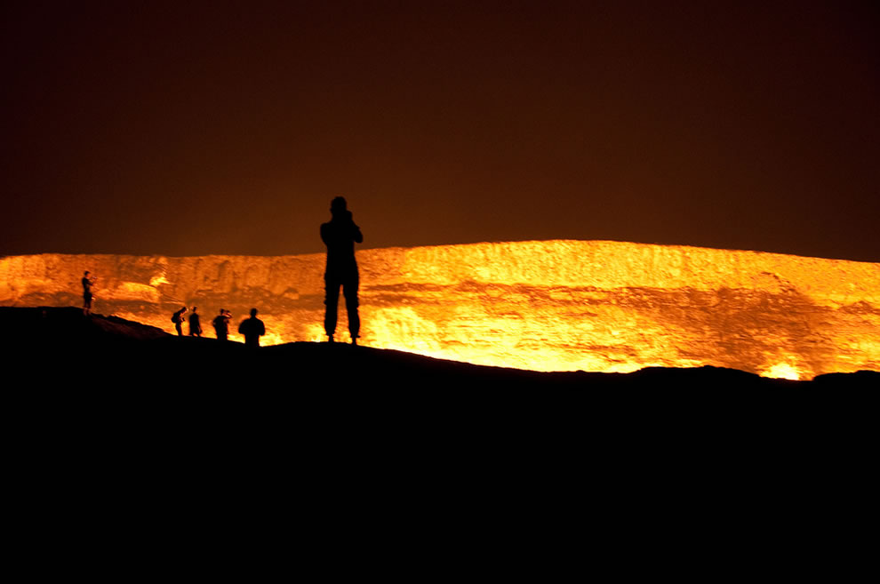 Darvaza Gas Crater, Darvaza Turkmenistan
