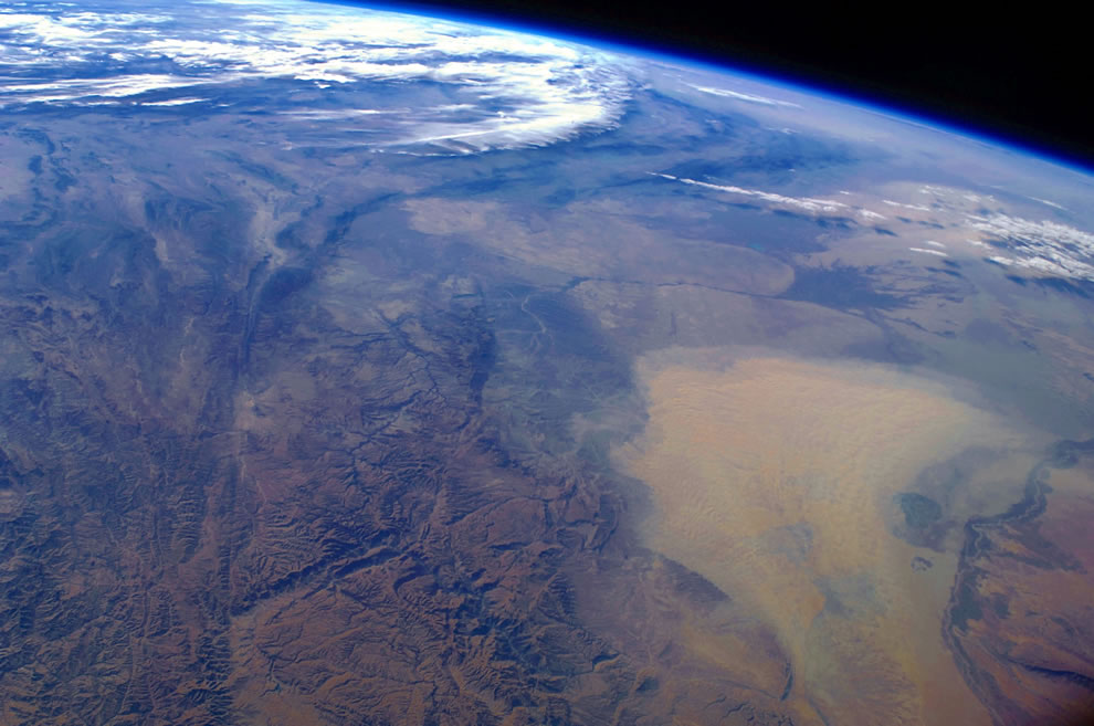 Dust Storm Over Turkmenistan as seen by ISS