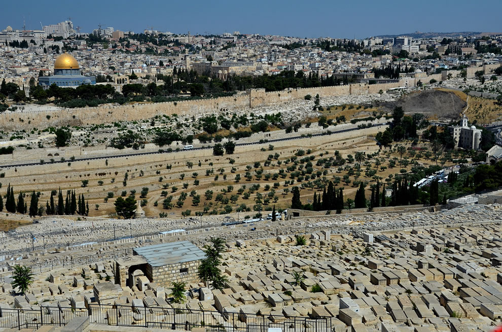 Jerusalem -- Last Judgment will be held in  Valley of Josaphat (Valley of Yehoshephat)