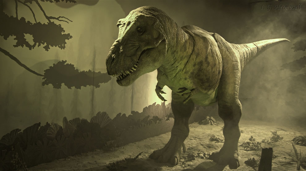 Mighty Tyrannosaurus Rex, Welcome to Jurassic Park 3D