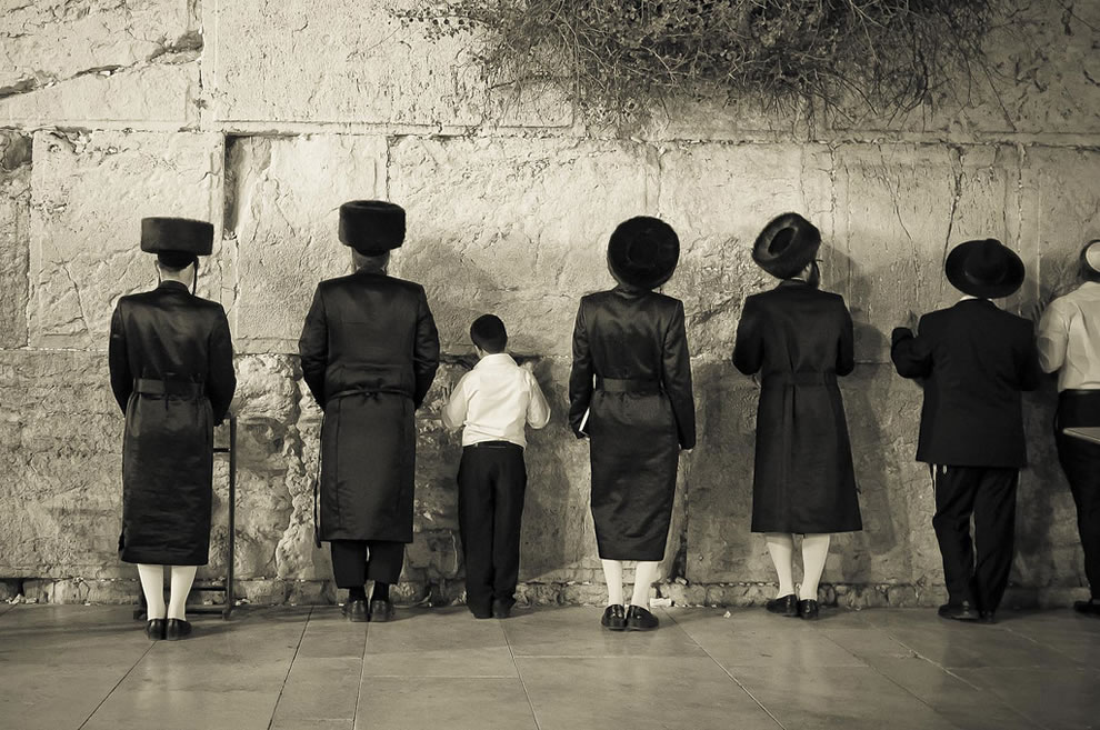 Sabbath on Western Wall