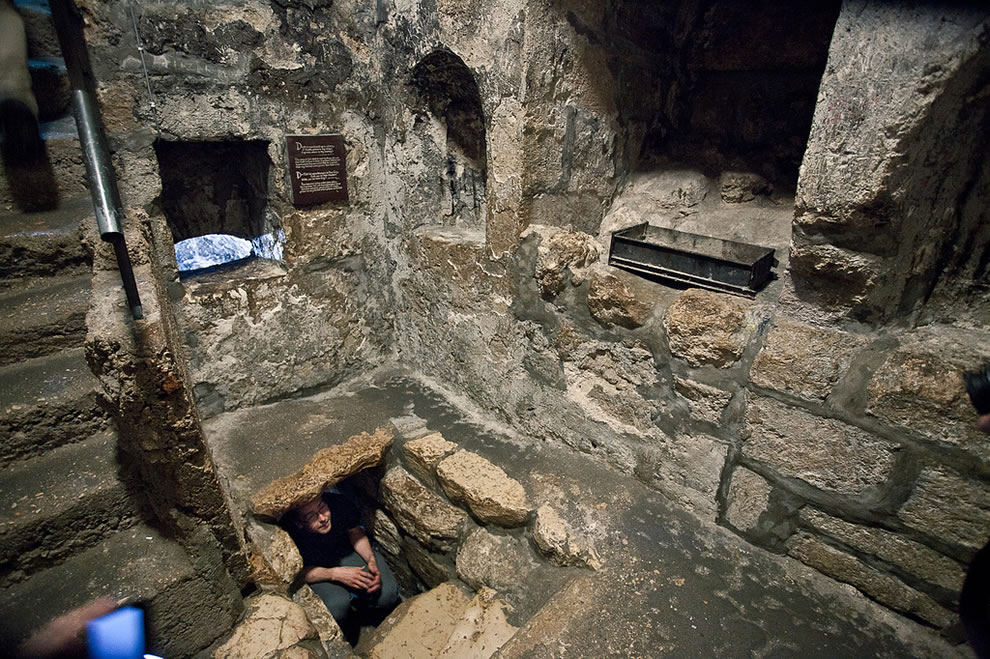 The Tomb of Lazarus at Bethany