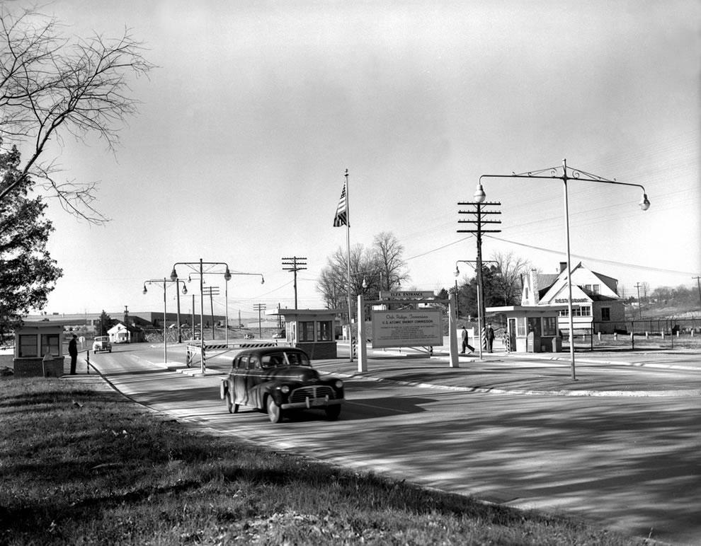 1949 Elza Gate Security Patrol Oak Ridge