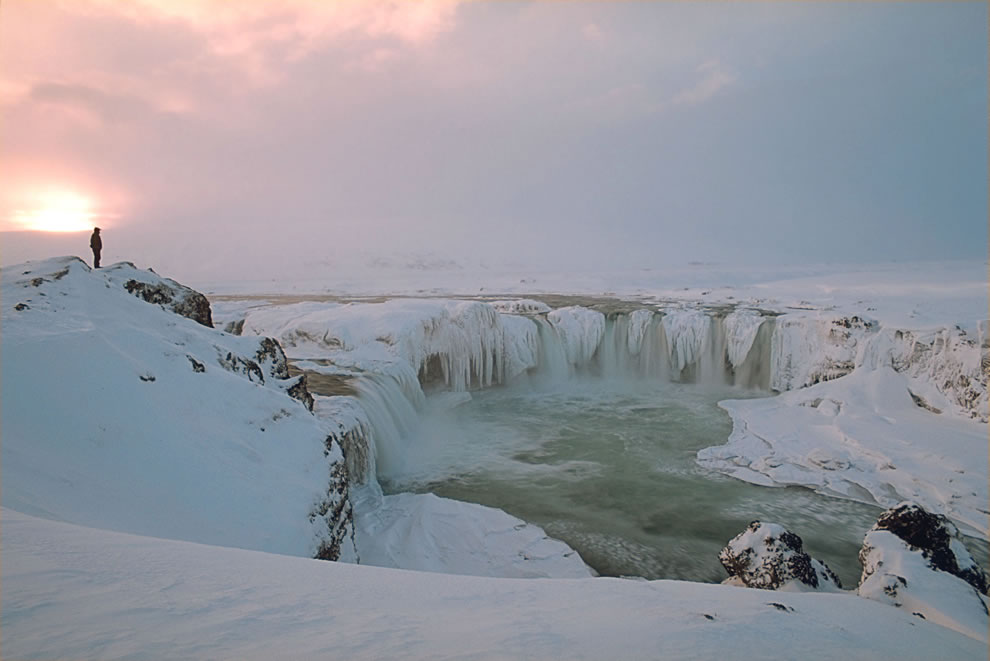 Gothafoss in Winter