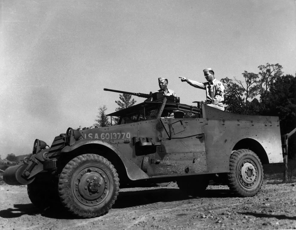 MP detachment Oak Ridge Tennessee 1945
