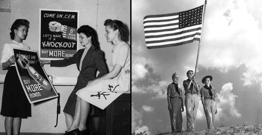 November 1944 War Bond Drive Oak Ridge & Boy Scouts