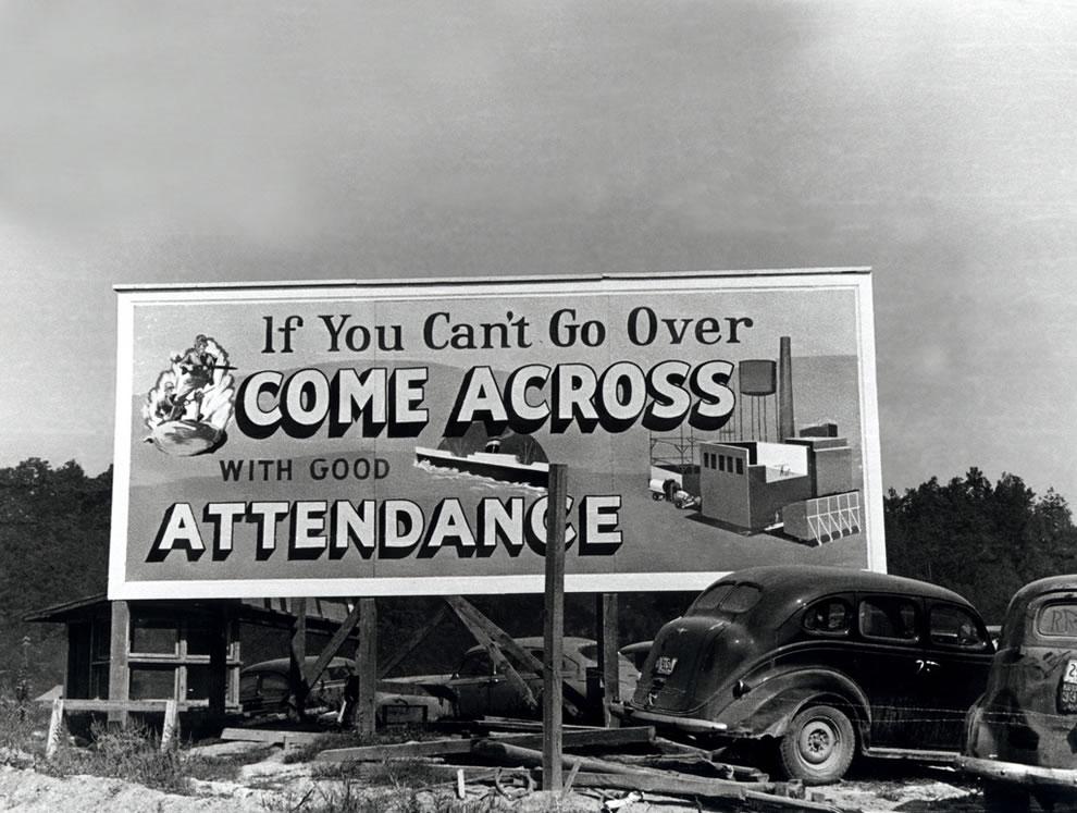 October 1943 Attendance Billboard Oak Ridge Tennessee