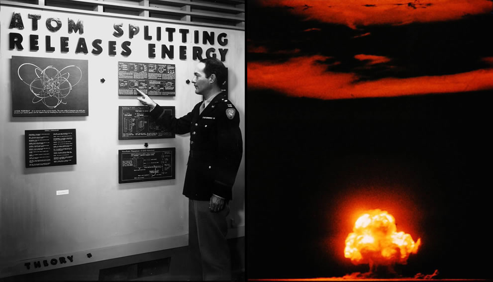 The Secret Town, Atomic City and Atomic bomb aka Trinity Test