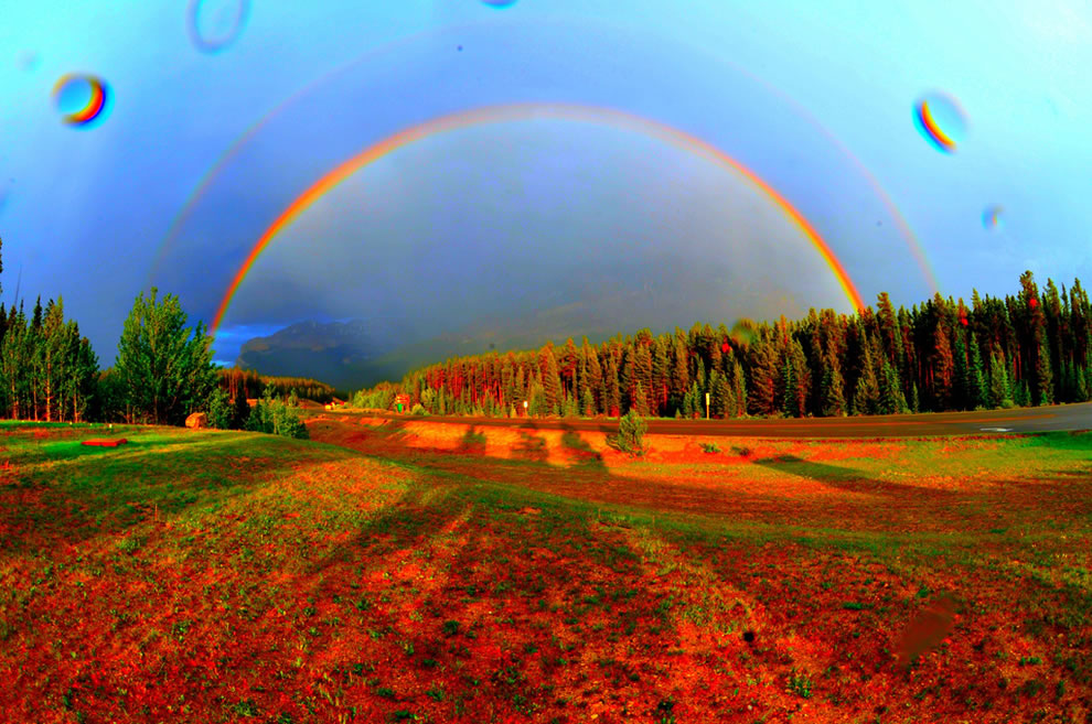 Double Rainbow Found