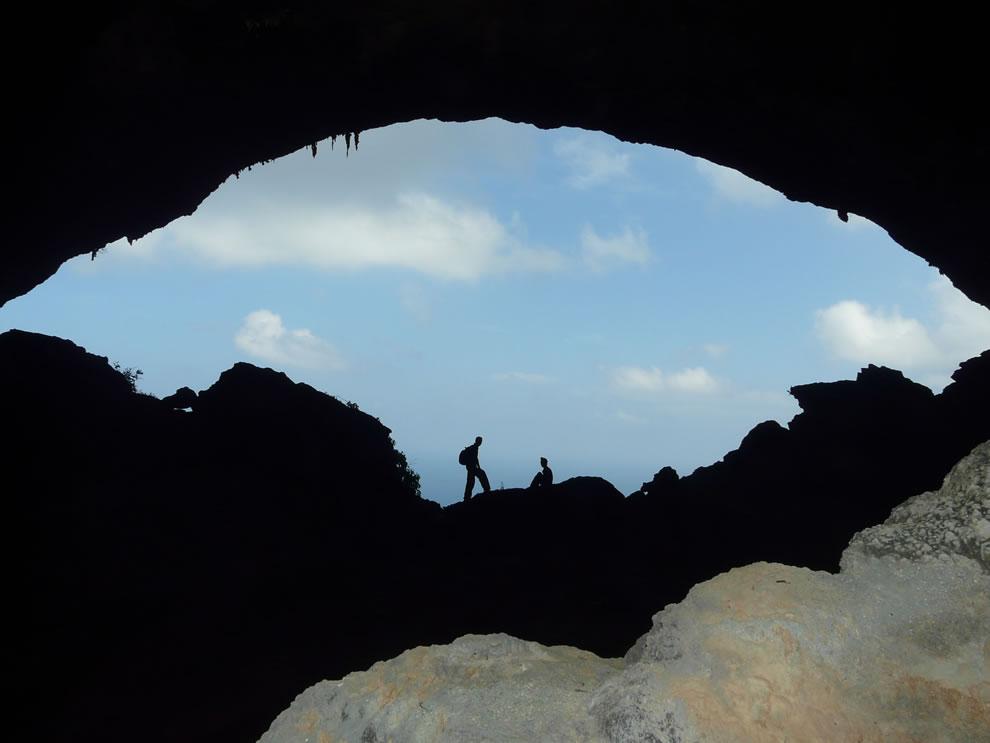Hawk cave in Hala, East of Socotra island