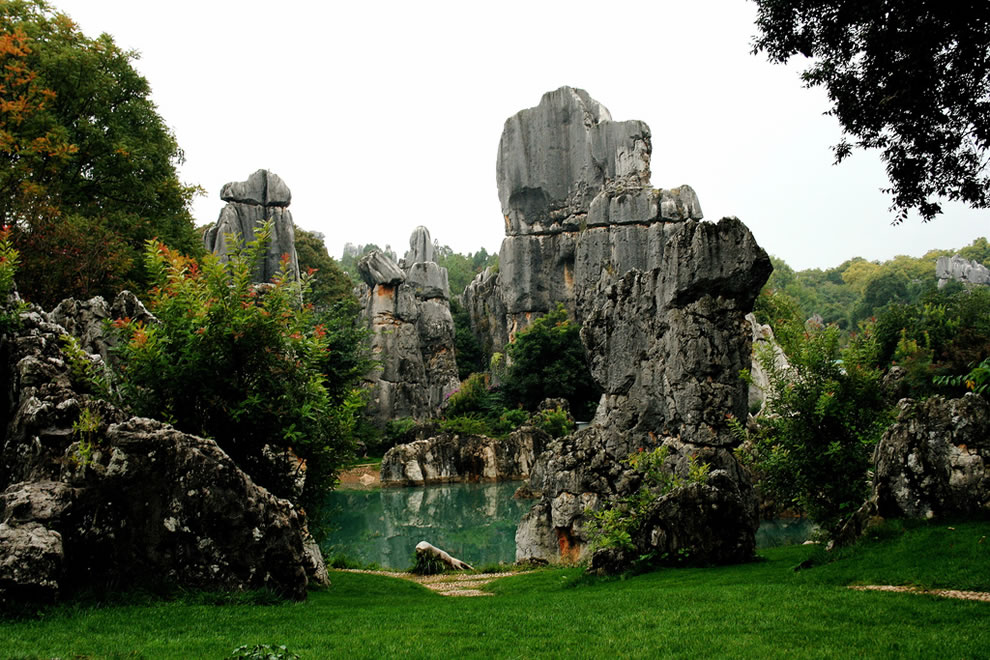 Lunan County, China, Stone Forest, Shilin