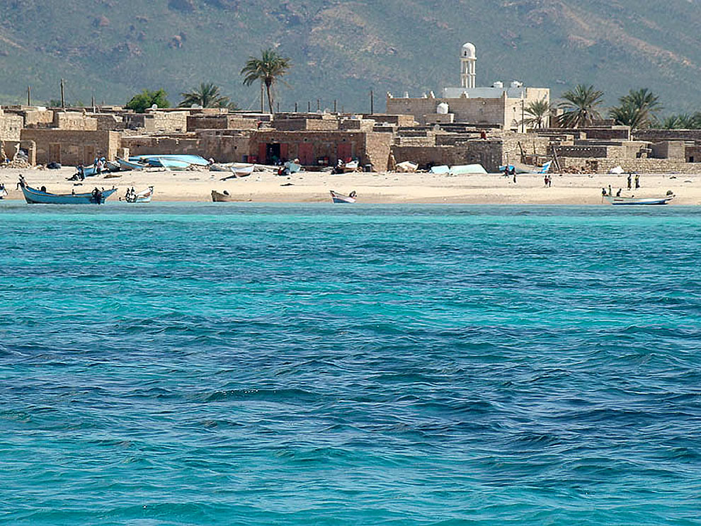 Qalansiyah, second largest town on Socotra