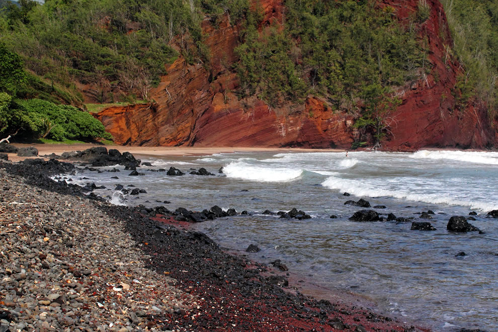 Red Sand Beach aka Kaihalulu