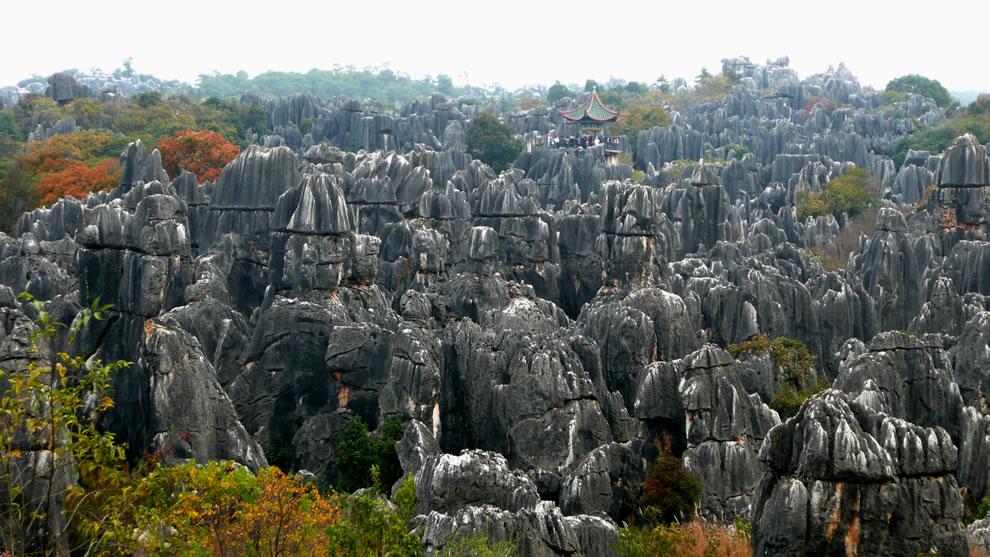 Shilin - Stone Forest near Kunming, Yunnan