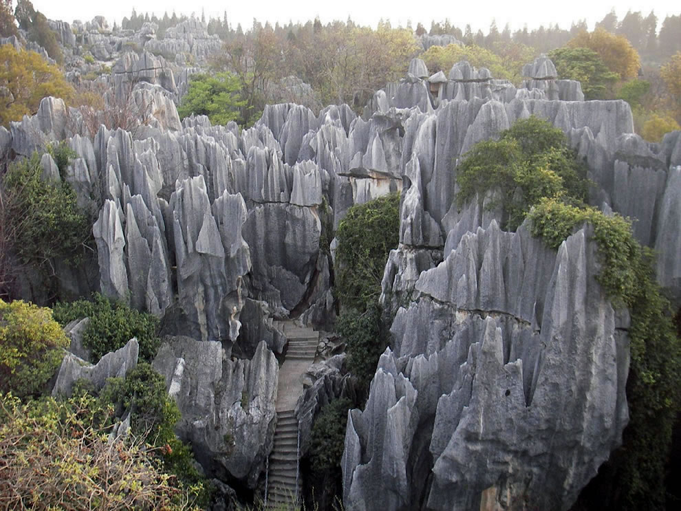 Shilin Stone forest outside Kunming