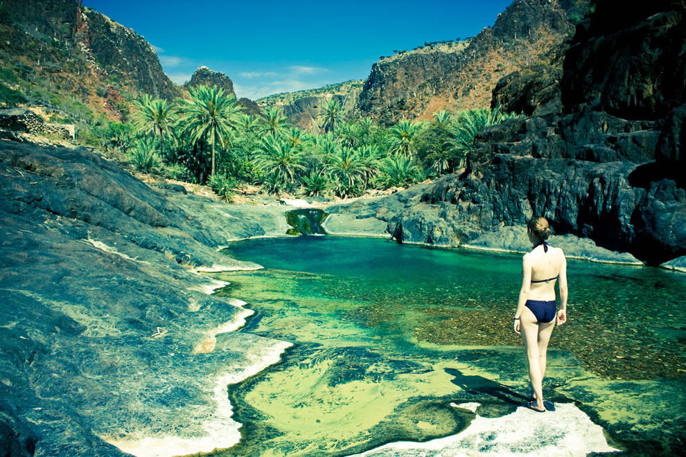 Socotra oasis makes this island look like an unspoiled paradise