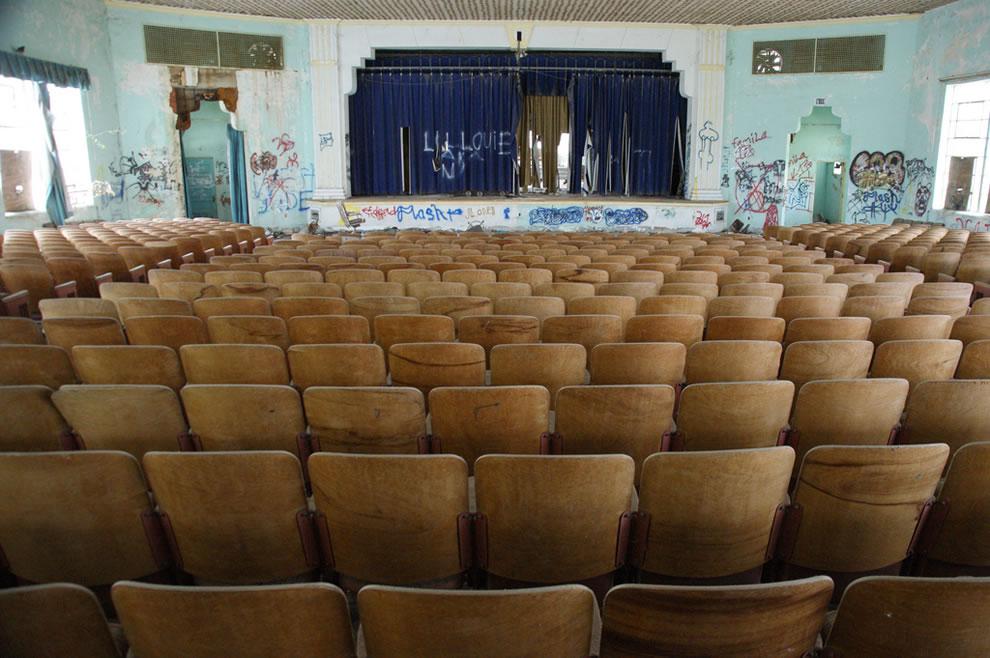 The School Play, abandoned Texas school