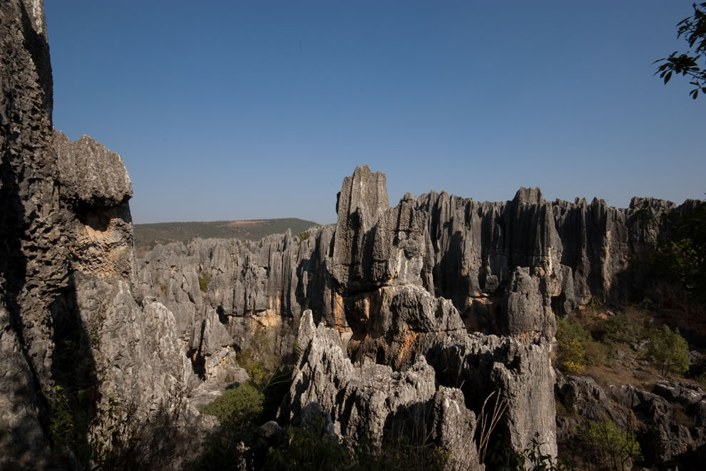 The Stone Forest in Shilin, UNESCO World Heritage Site since June 2007