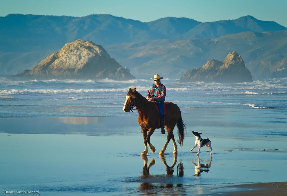 Ocean Beach Cowboy