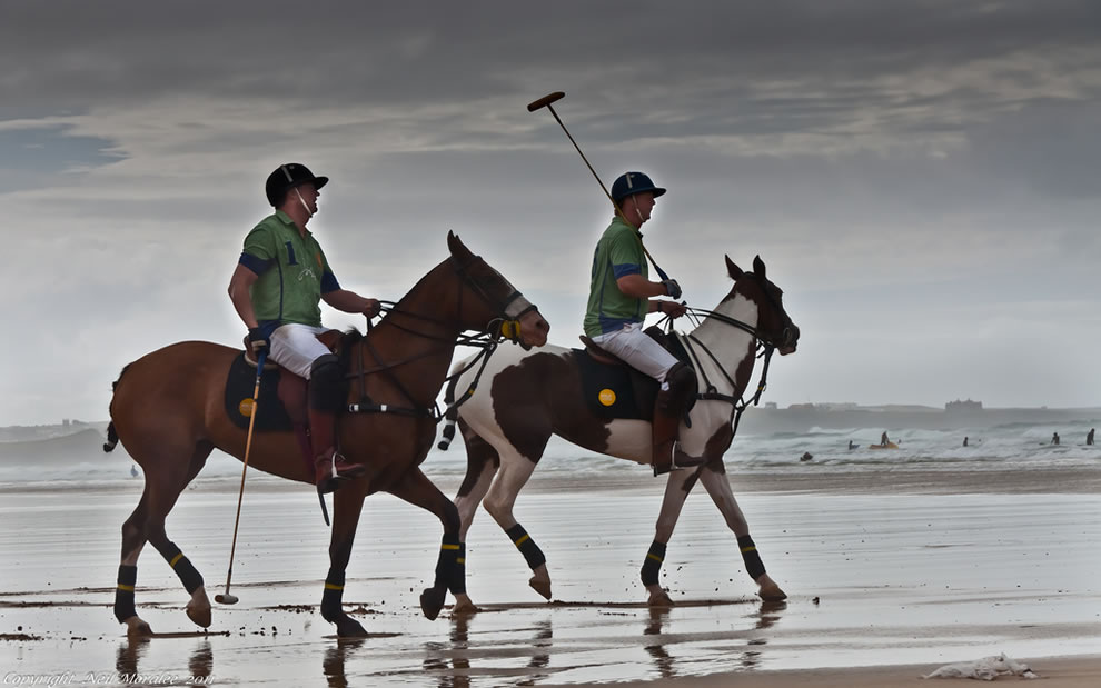 Polo at Watergate Bay